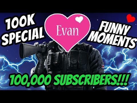 What It's Like Playing Siege With Evan Braddock (100k Special)