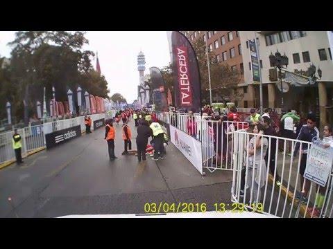 Rescate en M-101 durante Maratón de Santiago. Medic 101 Cab Ride