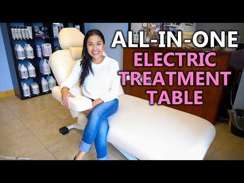 ALL IN ONE ELECTRIC TREATMENT TABLE BED FOR MASSAGE, FACIAL, SALON & SPA