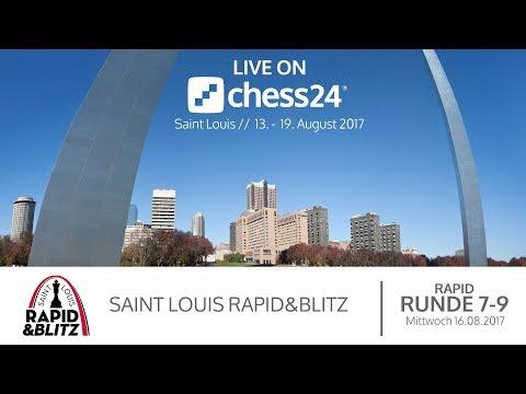 Tag 3 – Saint Louis Rapid & Blitz – Live-Kommentierung