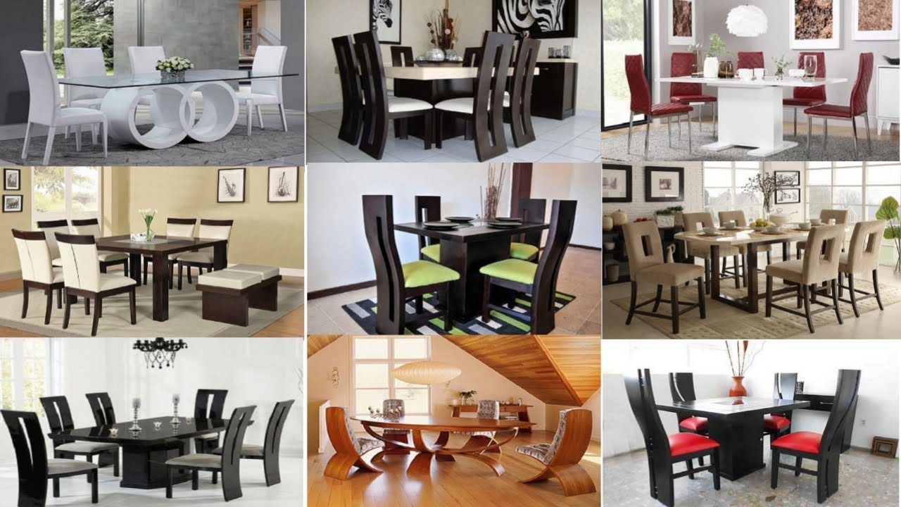 Modern Dining Room Tables And Chairs, Modern Dining Room Tables