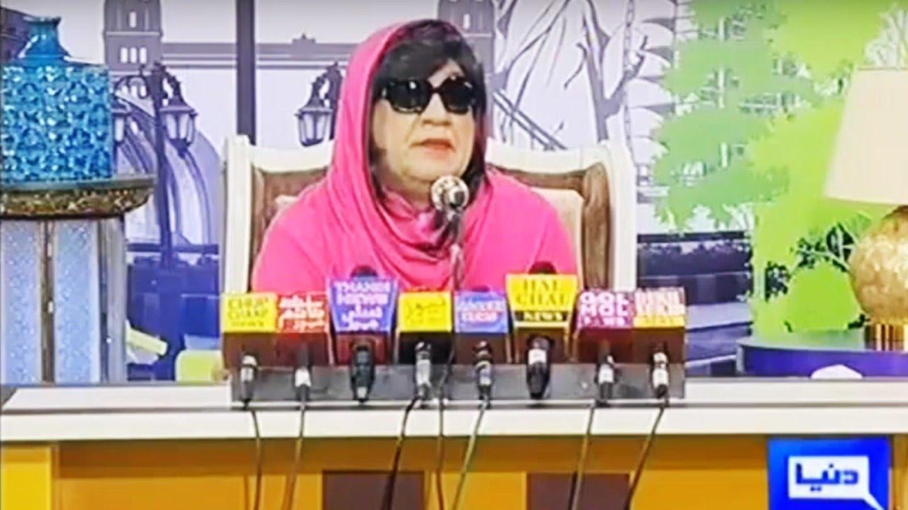 Download Hasb e Haal 2 October 2016 - Azizi as Meera - حسب حال - Dunya News