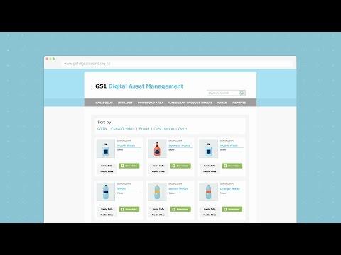GS1 Digital Asset Management