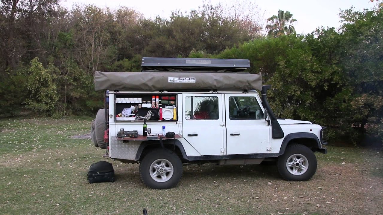 Electric Rooftop Tent By Bundutec Youtube
