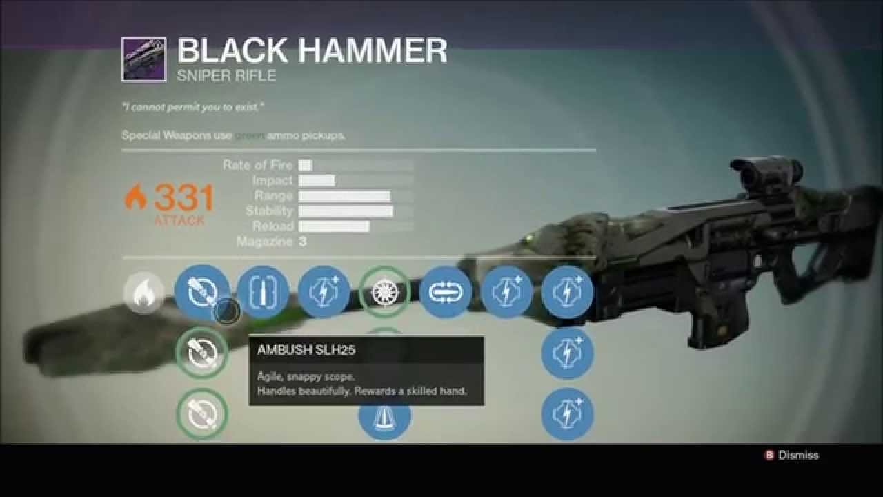 how to get hammer dance destiny