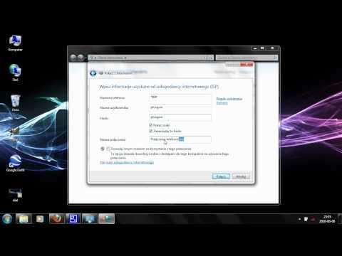 Konfiguracja połączenia Dial-UP w Windows 7 GPRS EDGE UMTS HSDPA HSPA HSPA+ bez-kabli.pl