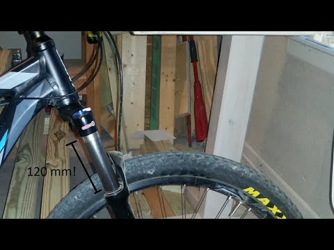 How to Extend the Travel of an SR Suntour XCR Air Fork to 120 millimeters