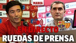 Barcelona 1 - Valencia 2: ruedas de prensa tras la final de Copa del Rey I MARCA