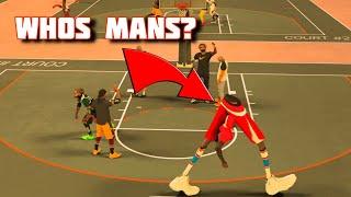 NBA 2K17 - 8 FOOT LEGS AT THE PARK  GLITCH