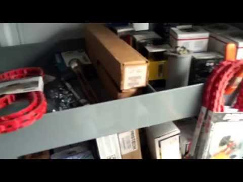 2015 Ford Transit with American Van Shelving tour