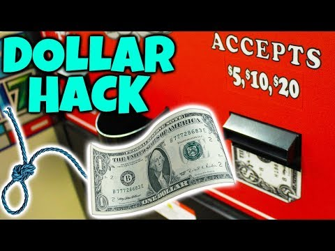 WILL THE DOLLAR ON A STRING HACK WORK AT THE ARCADE???