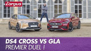 DS4 Cross (2021). Premier match face au SUV Mercedes GLA