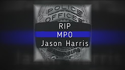 Officer Jason Harris Funeral and Procession