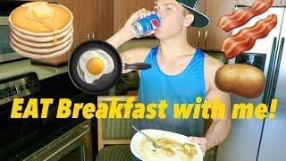 Eat Breakfast with ME {MUKBANG} - Sean van der Wilt