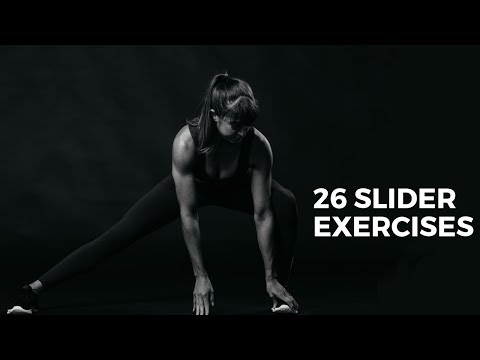 26 Slider Exercises | Full Body And Core Training