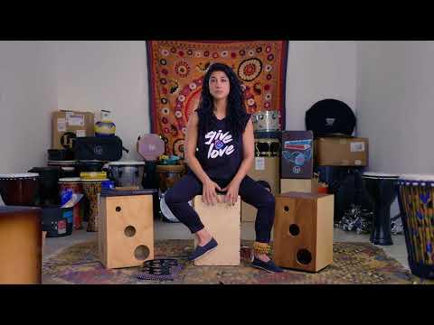 Mona Tavakoli Cajon Lesson For DRUM! Magazine
