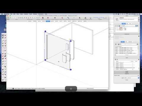 SketchUp Layout Kitchen Tutorial Narrated A1 V2 by KBCD