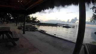 Sunset Time-Lapse @ Atlantic Bay Resort, Tavernier, Florida Keys !
