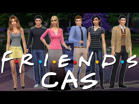 FRIENDS CAST! | Sims 4 Create a Sim