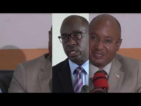 Umushikiranganji wa mbere CPG Alain Guillaume Bunyoni, yagendeye ahari kubakwa isoko mpuzamakungu