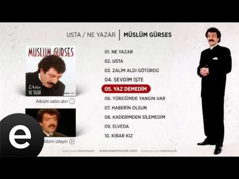 Yaz Demedim (Müslüm Gürses) Official Audio #yazdemedim #müslümgürses