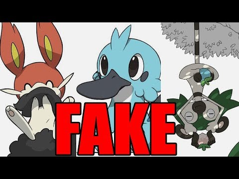 NEW STARTER POKEMON LEAK CONFIRMED FAKE! Amazing Creator Interview!