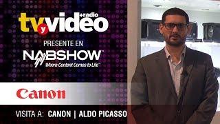 Visita a Canon durante NabShow 2019