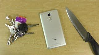 Xiaomi Redmi Note 3 - Knife Scratch Test