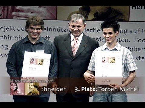 Jugend debattiert Bundesfinale  2006