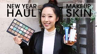 HAUL   New Year, New Products! Color + Skin