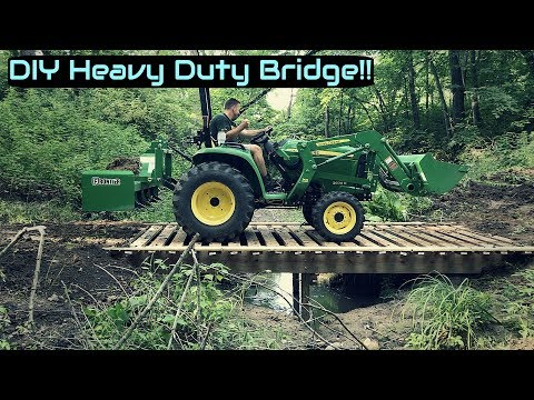 $200 DIY Heavy Duty Bridge
