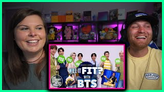 BTS PLAY Will It Fit? ON The Tonight Show Starring Jimmy Fallon [Reaction]