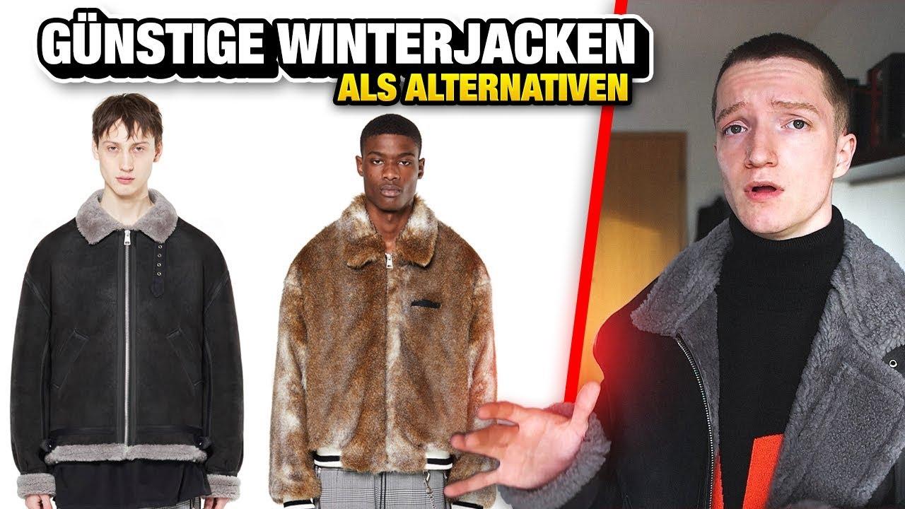 5 teure Winterjacken + günstige Alternativen