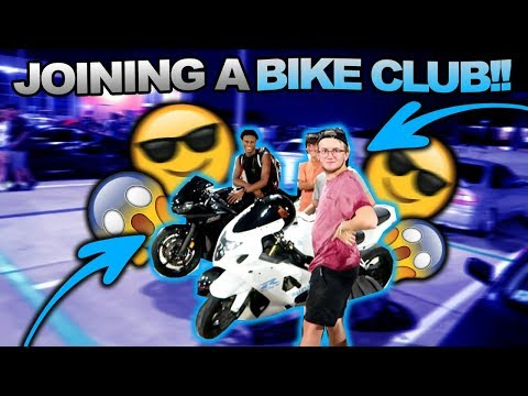 RELL TO REAL JOINING A BIKE CLUB!!!