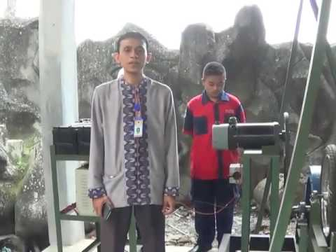 Fly wheel 100% free energy karya SMK INDUSTRI AL-KAAFFAH