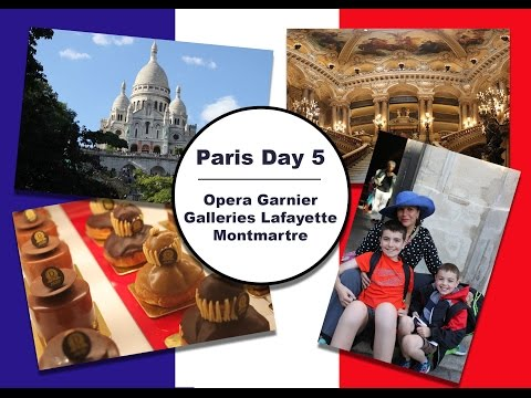 France Travels - Day 5 || Opera / Galleries Lafayette / Mont