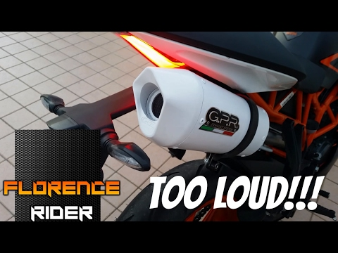 KTM Duke / Rc 125 | Stock Exhaust vs GPR Exhaust | With full comparison