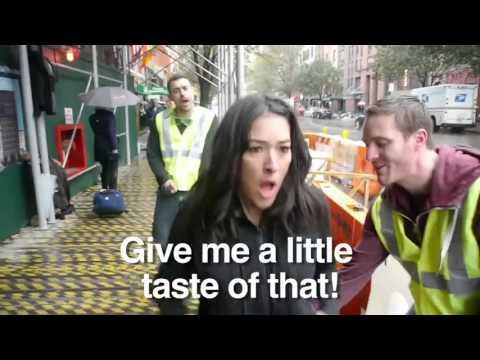 10 Hours Walking in NYC as a Woman Parody   She Ain't Playin'