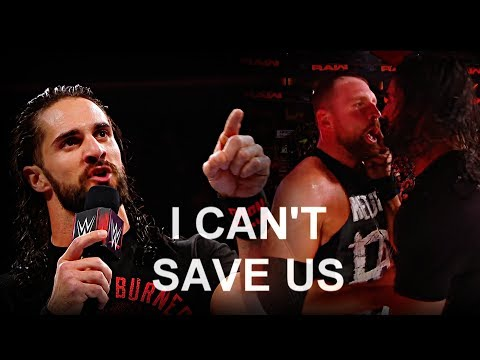 Dean Ambrose/Seth Rollins • I can't save us