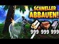 SCHNELLER ABBAUEN TRICK! - Fortnite Battle Royale!