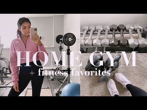 WHAT'S IN MY HOME GYM? Fitness Favorites + Cold Brew Smoothie