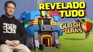TUDO REVELADO NO CV12 - SIEGE WORKSHOP, NOVA TROPA, NOVO MURO, NÍVEIS E ETC CLASH OF CLANS