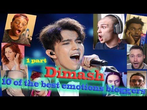 Dimash, (part 1) - Тop blogger reaksi. Bersambung.