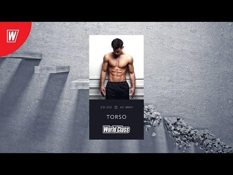 TORSO с Андреем Андреевым | 26 марта 2020 | Онлайн-тренировки World Class