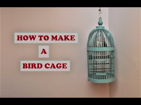 Making a Budgie Cage (DIY)