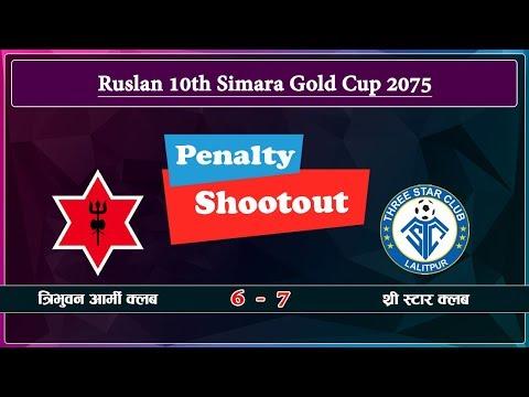 Three Star Club vs Nepal Army Club Panalty shootout || Action Sports