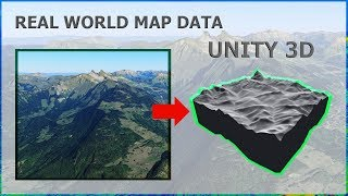 Unity 2019 - Adding Real World Height Maps To Your Game