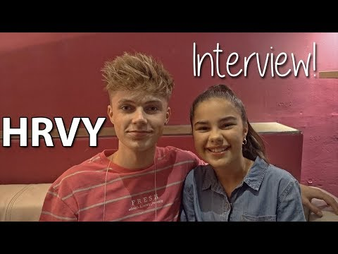 HRVY Interview: Getting to Know a UK Pop Star | Grace's Room
