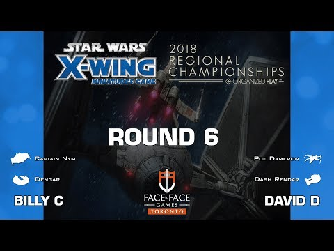 X-Wing - 2018 Toronto Regional @ Face to Face Games - Round 6