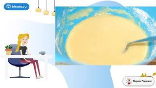 Бисквитная шарлотка в мультиварке Стол рецепты с фото
